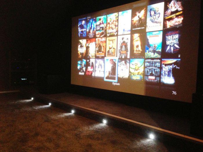 Cinéma sous les combles